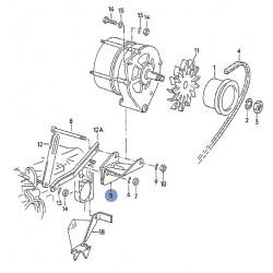 Support alternateur sur bloc moteur