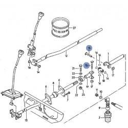 Pivot de montage sur commande de boite