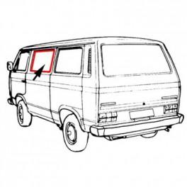 Joint de vitre latérale milieu gauche ou droit