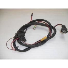 Câblage électrique sur moteur de refroidissement avant