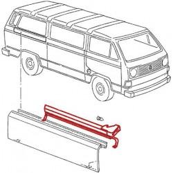 Rail de guidage de porte coulissante