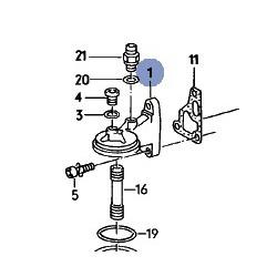 Support de filtre à huile 1.6 TD